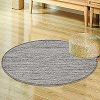 Non Slip Round Rugsgrunge gray texture background Oriental Floor and Carpets-Round 24