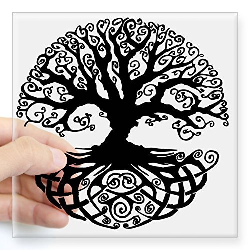 CafePress Square Sticker Bumper Decal
