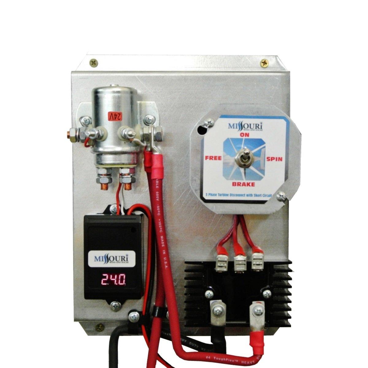 amazoncom 24 volt basic three phase wind and solar charge