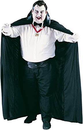 Cape 72 Inches Long Big And Tall With Black Collar Halloween Funworld