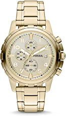 Fossil FS4867 Reloj Dean, Análogo, Redondo para Hombre