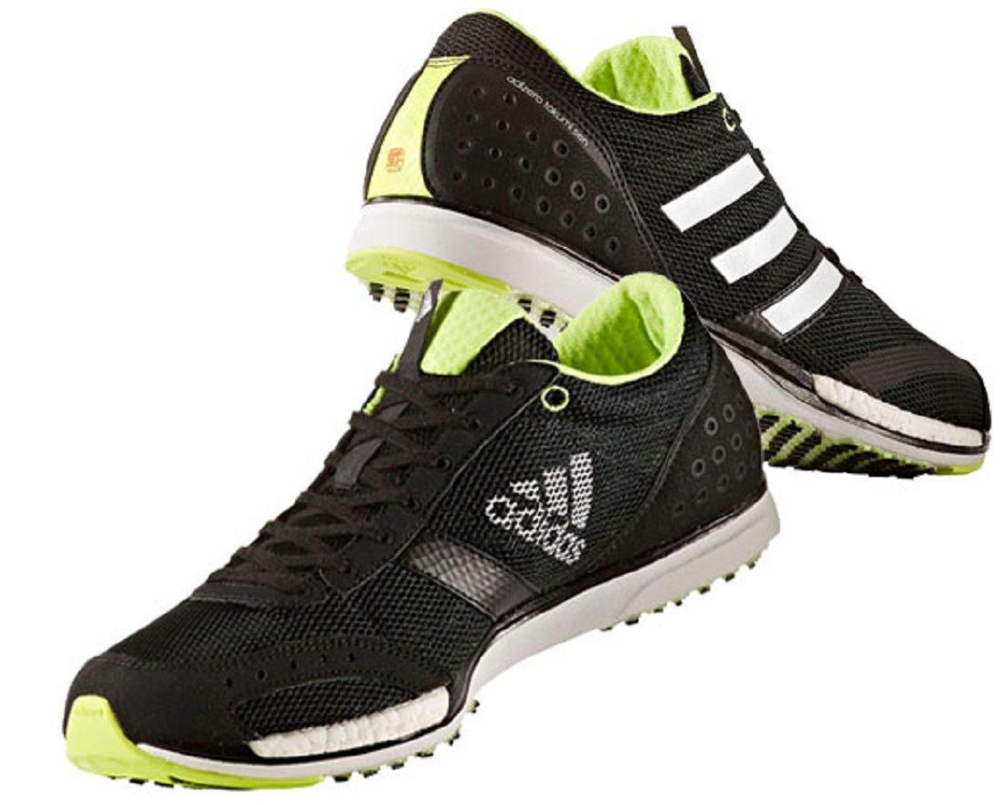 アディダス adidas ランニングシューズ 24.5cm アディゼロ タクミ セン ブースト 3 ADIZERO TAKUMI SEN BOOST 3 国内正規品 CG3053 コアブラック B07D6Y58L5