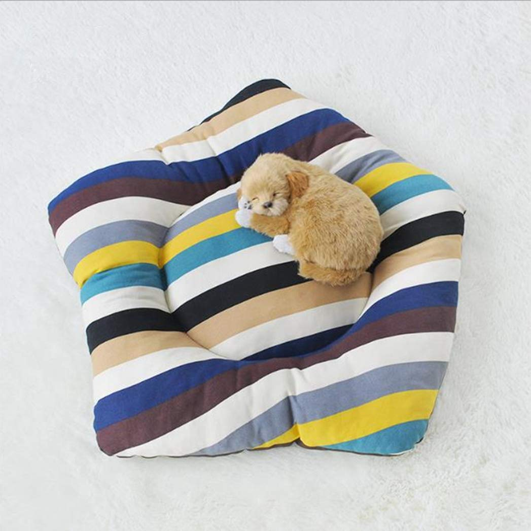 COLORFULE S SENERY Reversable A /B Sides Dog Bed, Ma ne Wasable Durable Cushion Bed Mat per Pet Cat Dog