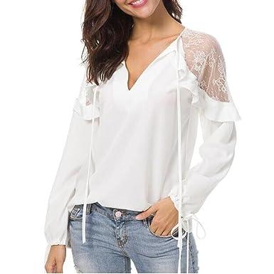 Shirt Casual Épaule T Haut Ete Veste Chic Femmes Luckycat De gxwt7O
