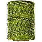 Cotton Machine Quilting Multicolor Thread 1200 YD Spring Greens