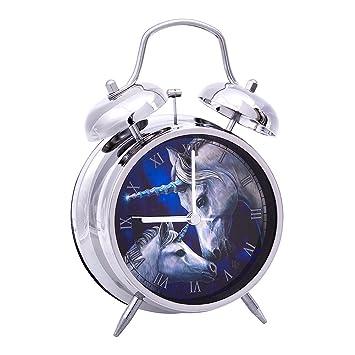 Nemesis Now Sacred Love Lisa Parker Alarm Clock (Silver)