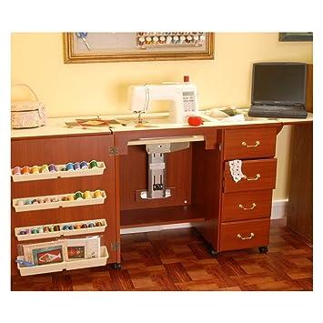 Amazon.com: Arrow Norma Jean Sewing Machine Storage Cabinet ...