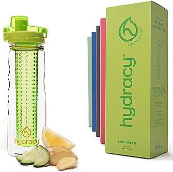Hydracy Botella de Agua con Filtro infusor para Fruta 750 ml con ...