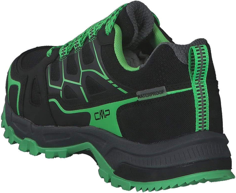 CMP Zaniah Trail Shoes WP Size 41EU 39Q9687 67UF Nero//VerdeFLuo