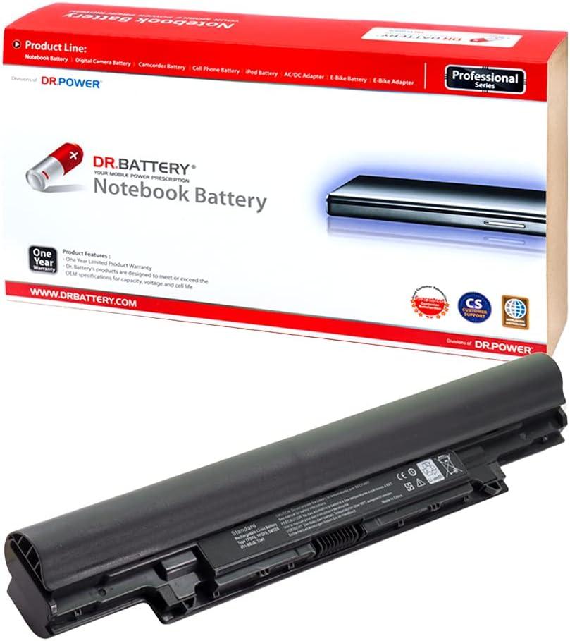 DR. BATTERY 5MTD8 Battery Compatible with Dell Latitude 3340 3350 YFDF9 YFOF9 3NG29 7WV3V H4PJP HGJW8 JR6XC VDYR8 451-12176 451-12177 451-BBIY 451-BBIZ 451-BBJB [7.4V/4400mAh/33Wh]