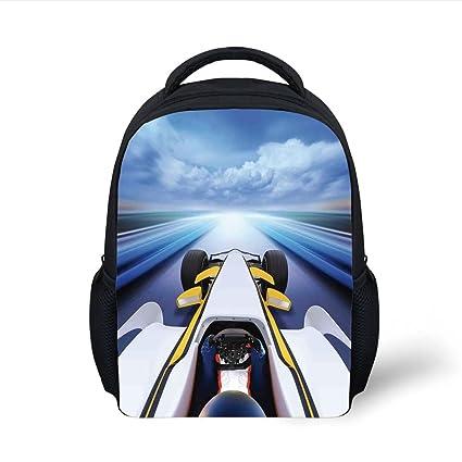 Amazon.com  iPrint Kids School Backpack Cars 35aa743604129