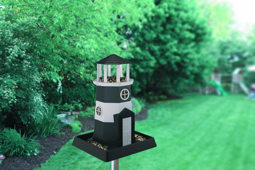 North States 6-Foot Aluminum Birdfeeder Pole and Bracket Set