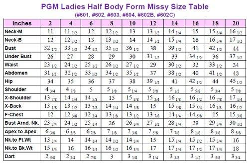 Amazon.com: PGM Dress Form Professional Dressmaker with Hip ...