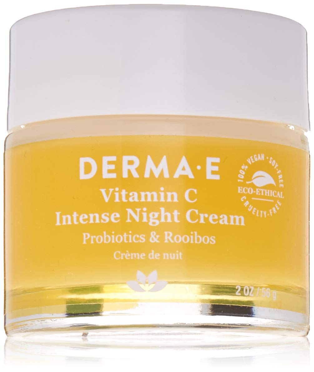 DERMA E Vitamin C Intense Night Cream, 2 oz by DERMA-E