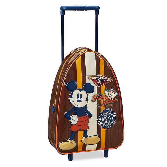Amazon.com: Disney Mickey Mouse maletas con ruedas – pequeño ...