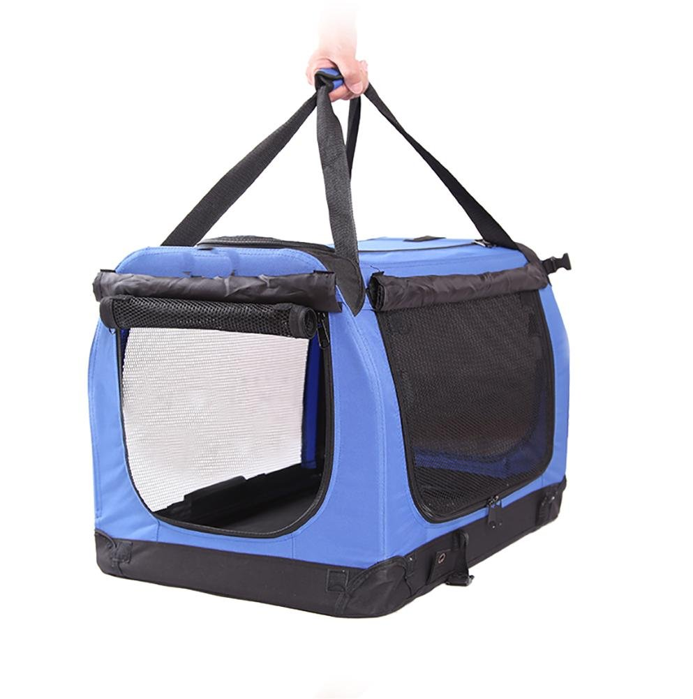 bluee 604242cm bluee 604242cm LOHUA Portable Soft Pet Carrier or Crate or Kennel for Dog, Cat, or Other Pets. Great for Travel, Indoor, and Outdoor