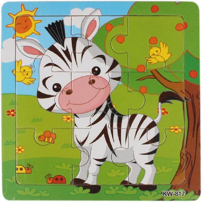 Vovotrade Puzzles en Bois Abeille Enfants /éducation de Puzzle et Apprendre des Casse-t/ête Jouets multicolore