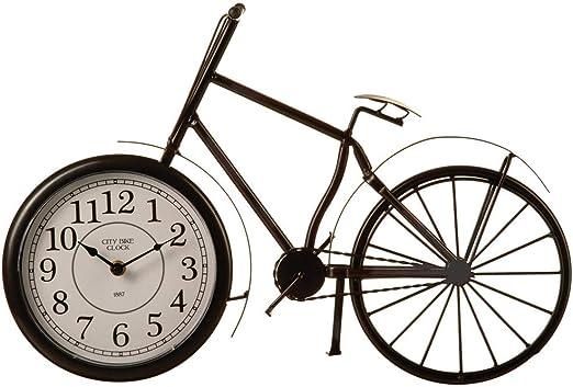 Reloj original - Reloj en forma de bicicleta vintage: Amazon.es: Hogar