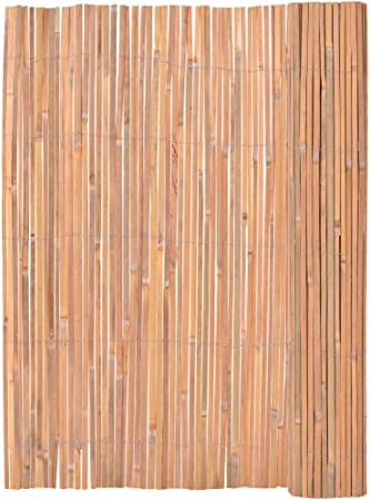 Festnight Valla de Bambú Bambú Valla Pantalla Jardín Vallas para Jardín 125x400 cm: Amazon.es: Hogar
