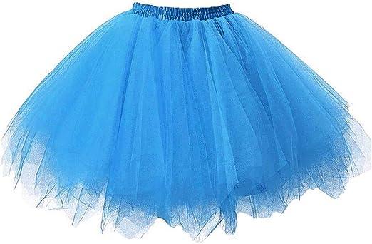 Comie Falda de Tul, Falda de Danza de Ballet para niña, Falda de ...