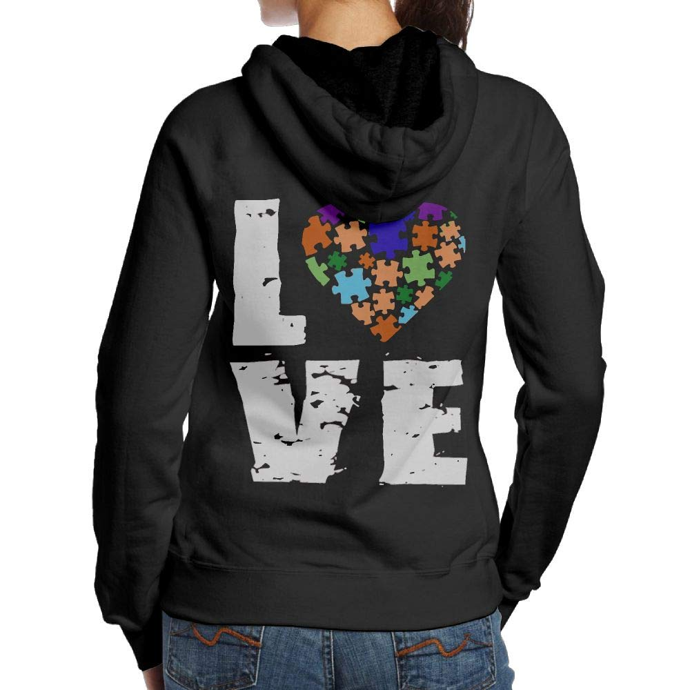 Wwtbbj B Autism Awareness Puzzle Piece Adult S Casual Hoody T Shirts