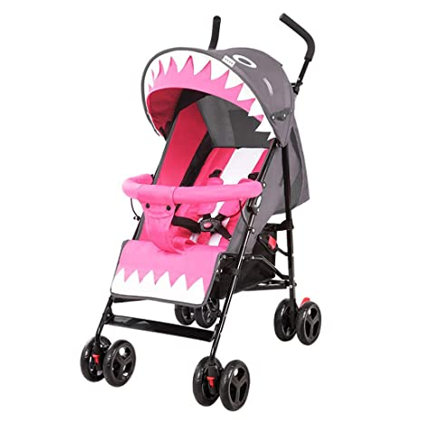 YKQ Cochecitos para niños pequeños Lindo y fácil de Doblar Cómodo Sistema de Viaje para bebés