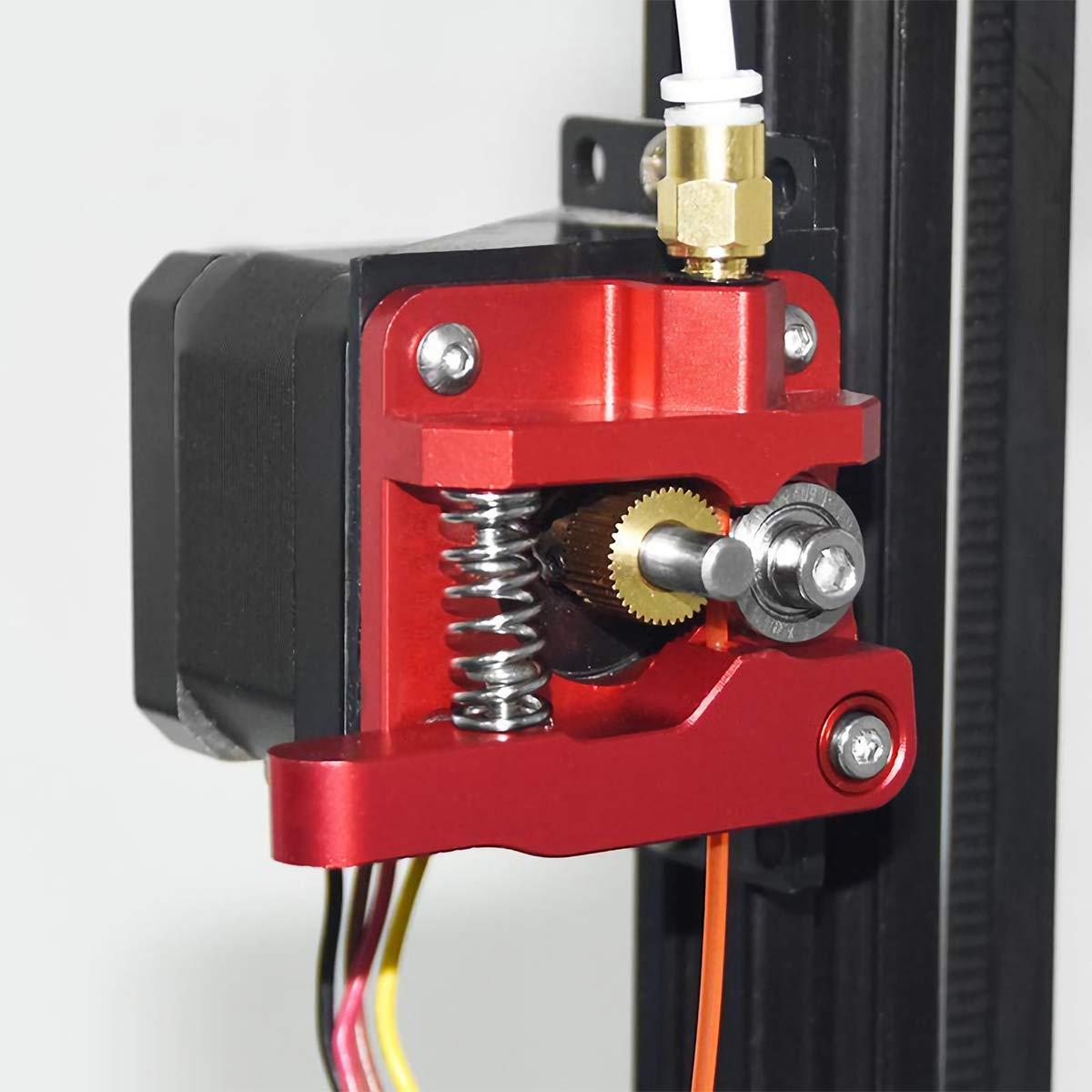 CR-10 S4 CR-10 S5 3D Drucker TL-Smoother Ender 3 Extruder Kit Upgrade Ersatz Aluminium MK8 Drive Feed Sock Tube Stepper Motor Vibration D/ämpfer Feder f/ür Creality Ender 3 CR-10 CR-10S
