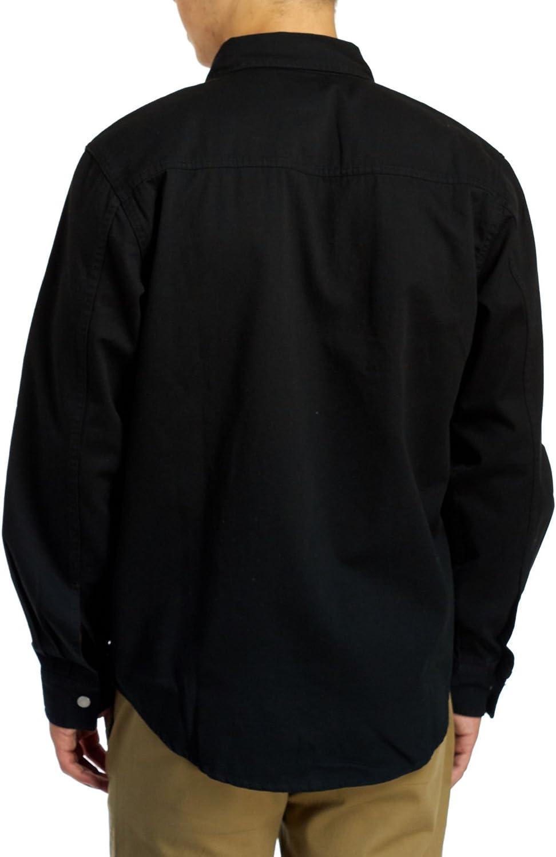 Levi's Barry Classic - Camiseta de mezclilla para hombre, color negro Negro
