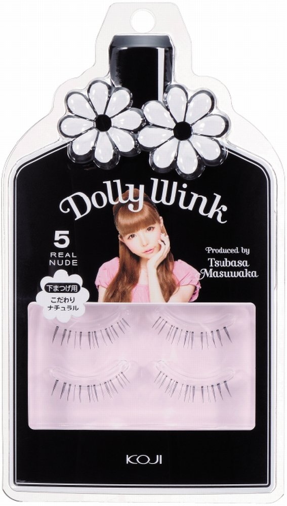 bce13e69127 Amazon.com : Dolly Wink Koji Eyelash by Tsubasa Masuwaka, Realcute (05) :  Fake Eyelashes And Adhesives : Beauty
