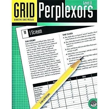 Mindware Grid Perplexors Level B (Set Of 3)