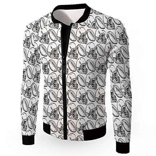 Men's Jackets,Football,Men's Lightweight Zip-up Windproof Windbreaker Jacket,AME