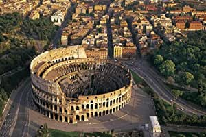 Grade 2 1500 piece Historic center of Rome, the Properties of the Holy See in that City Enjoying Extraterritorial Rights and San Paolo Fuori le Mura V-Colosseum Tatsujin Tatsujin test of puzzle [Italy] 14-111 (japan import)