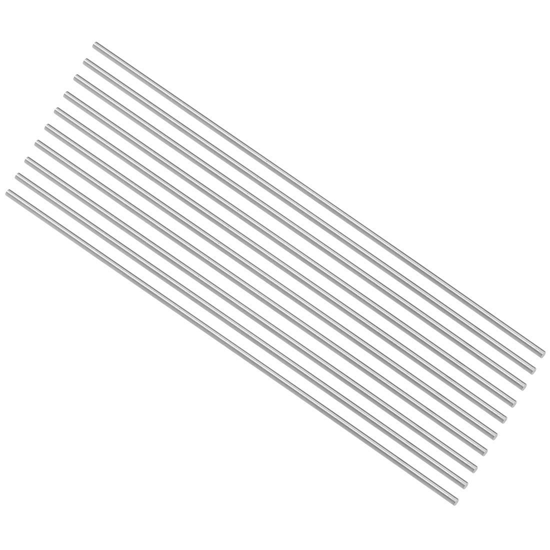 20 Pcs for Shaft Miniature Axle DIY Craft Tool sourcing map Round Rod 1.3mm Diameter 100mm Length HSS Lathe Bar Stock