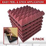 Egg Carton Foam Sheets RESON8 Acoustic Foam | DIY easy PEEL AND STICK foam adhesive | Sound Foam Panels | 2