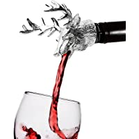HASAGEI Wine Aerator Wine Pourer Christmas Presents Quick Aerator Spout,Exquisite and Practical Wine Decanter Wine Accessories for Hiking Camping or Party
