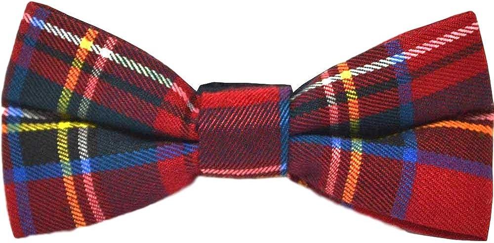 Hunting Stewart Tartan Rosette Barrette À Cheveux Nœud Écossais Écharpe Mariage Cravate Bande