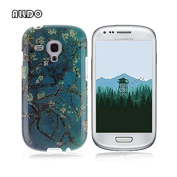 AllDo Funda Silicona para Samsung Galaxy S3 Mini i8190 Carcasa Protectora Caso Suave TPU Soft Silicone Case Cover Bumper Funda Ultra Delgado Carcasa ...