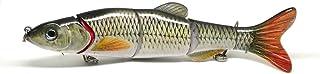 Swimbait multi articulée Fishing Lure réaliste motif Chub Roach Dace et nager action pour le brochet, la perche, le sandre et basse 160mm 40 grammes FISHIN ADDICT 002