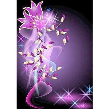 D:25x25cm Fanxing 5D Diamond Painting 5D Diamant Malerei Blumen Diamant stickerei Rhinestone Pasted Gem/älde Kreuzstich DIY Cross Stitch Kreuzstich Wohnkultur