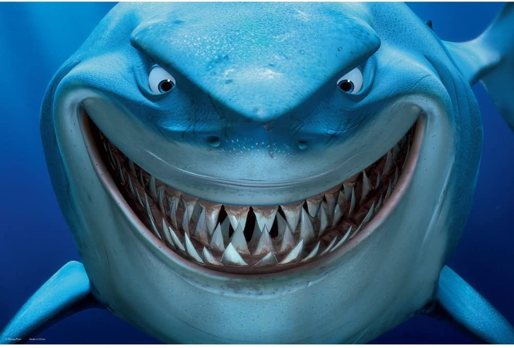 Penn Plax Bruce Aquarium Background, 20-Gallon