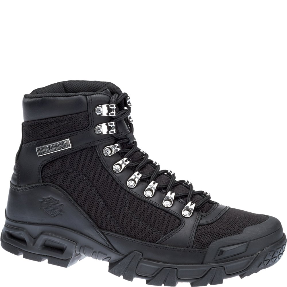 Harley-Davidson Men's Parkwood Leather Mesh Motorcycle Boots D96132 Wolverine