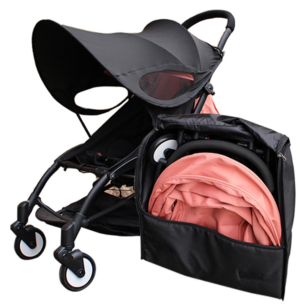 Stroller Travel Carry Bag Compatible for YOYO//YOYO+,Durable and Lightweight Stoller Travel Bag With Ergonomic Should Strap for Storage and Airport Gate Check