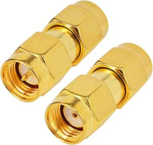 N TYPE Male to SMA Female Jack Plug Straight Adapter RF Connector Converter ed