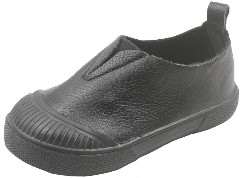 2b205a5e0d80c PPXID Souple Enfants Fille Garçon Mocassins Souple Chaussures Bateau  Slip-on Garçon Fille Loafers Noir 19acd22 - bitcoininstant.website