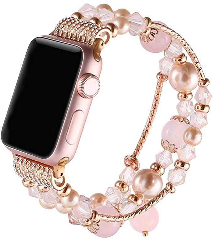 Pearl Bracelet Compatible with Apple Watch
