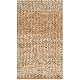Safavieh Natural Fiber Collection NF732A Hand Woven Natural Jute Area Rug (2'3' x 4')