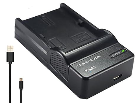 Lemix (BG1) Cargador USB Ultra Slim para baterías Sony NP-BG1 / NP ...