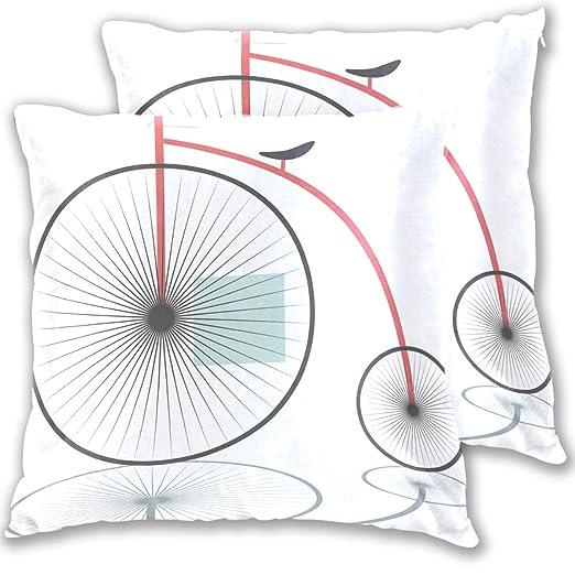 LEVEIS - Funda de cojín para sofá o Dormitorio (2 Unidades ...