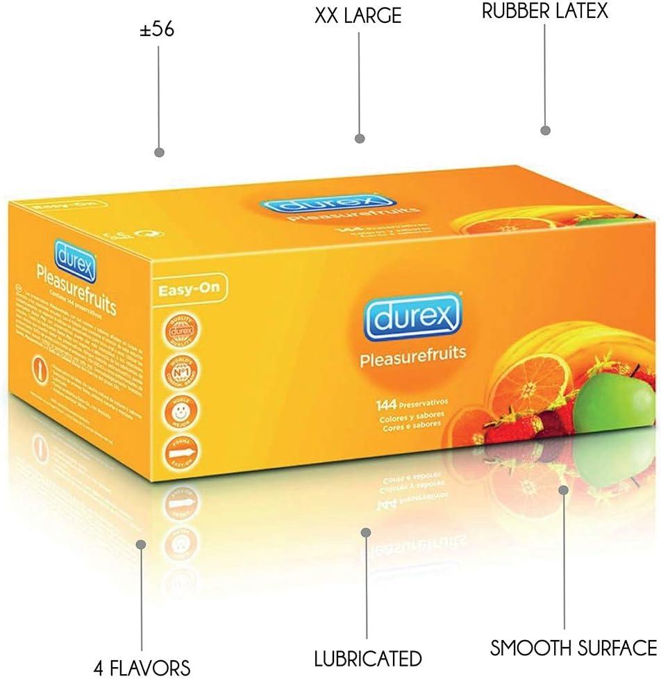 DUREX PLEASUREFRUITS 144 UDS: Amazon.es: Hogar