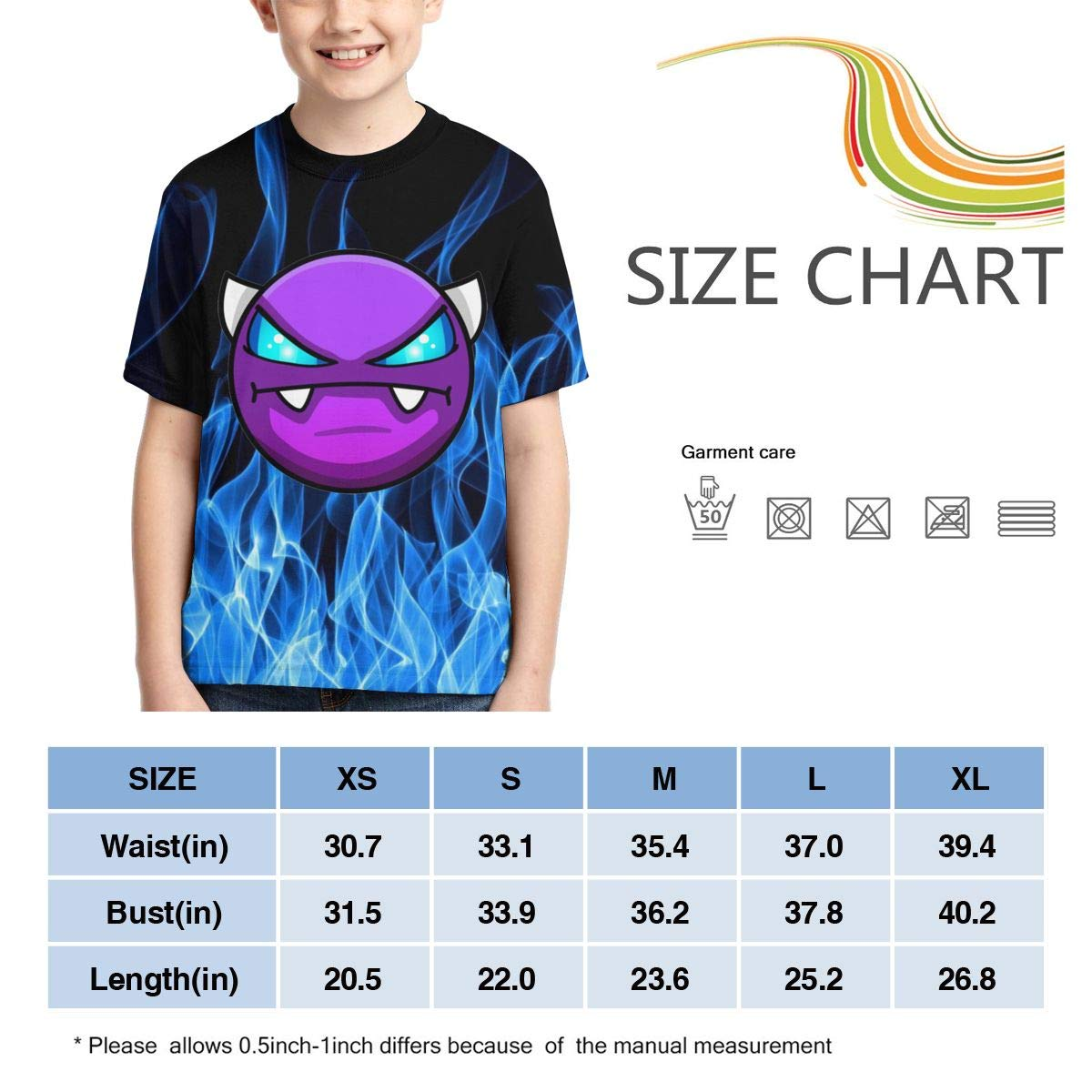 ONEYUAN Children Black Whale Shark Animal Kid Casual Lightweight Sport Shoes Sneakers Walking Athletic Shoes